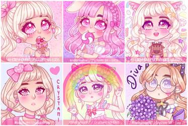 MapleStory2 Icons by Usagi-Natsumi