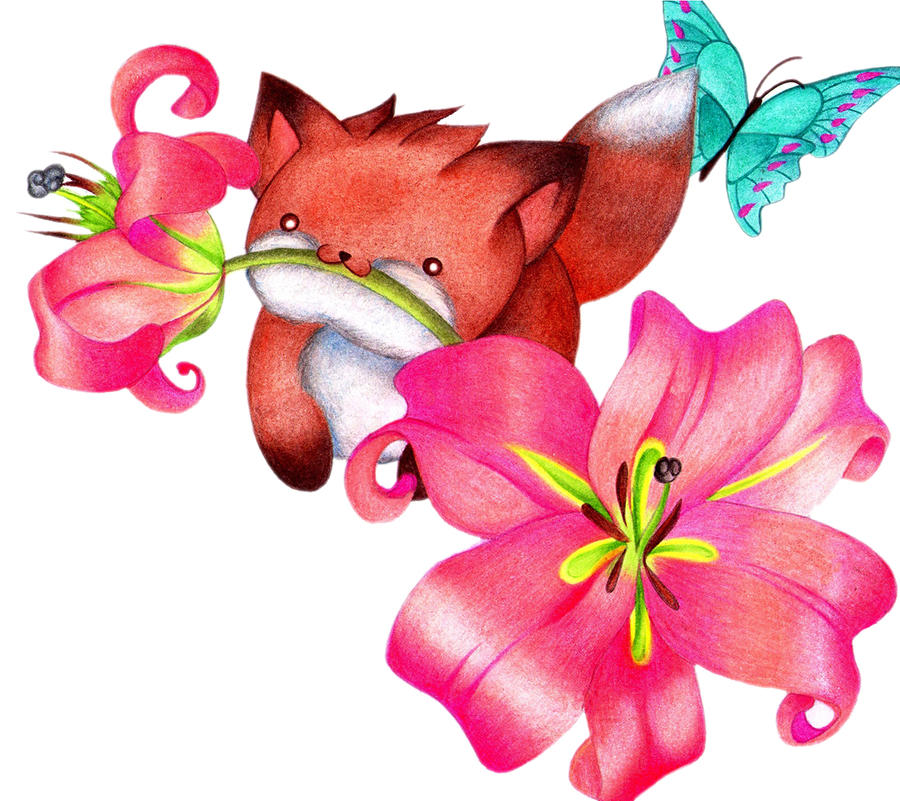 I has Lily Flower by sayuri-hime-7
