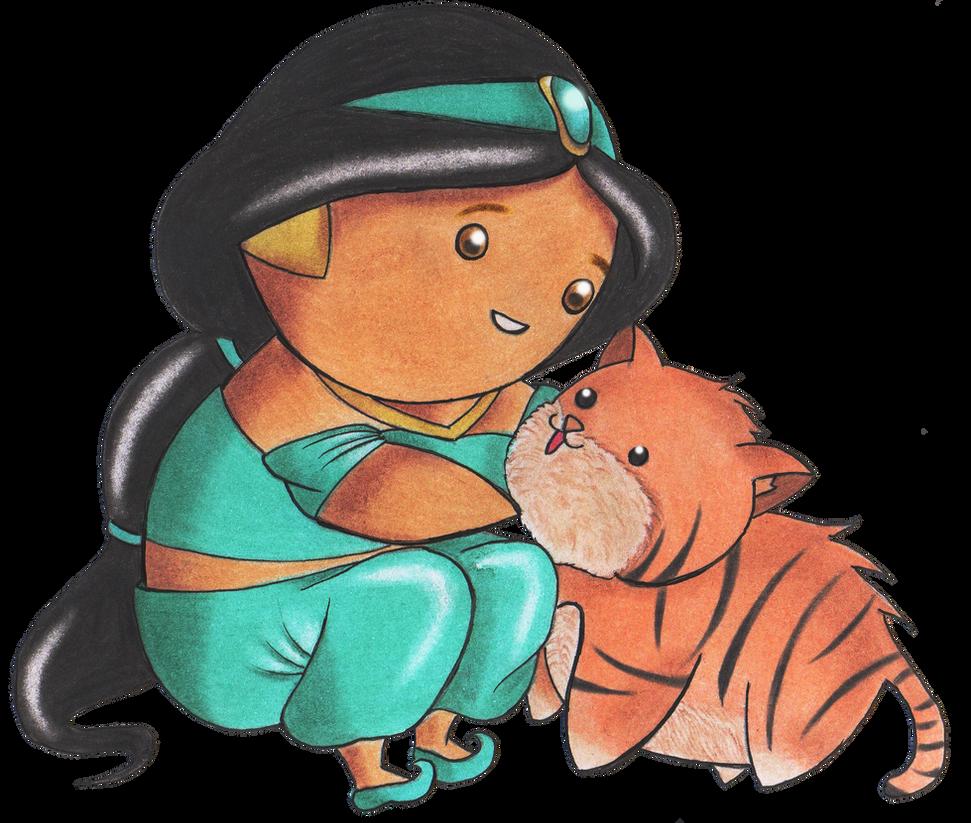 Chibi Jasmine by sayuri-hime-7