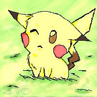 Pikachu by Zaije