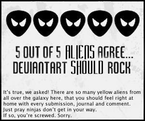 5 Out Of 5 Aliens Agree by Elerinwen