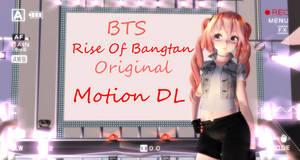 (MMD) 'Rise of Bangtan' [ORIGINAL MOTION DL]