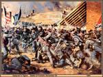 Opdycke's Tigers. Battle of Franklin 1864.
