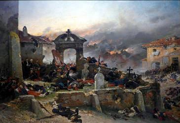 Battle of Gravelotte St. Privat, 1870 by Kellkrull87
