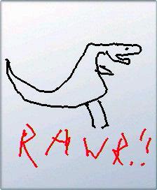 Rawr by MrCraptastic