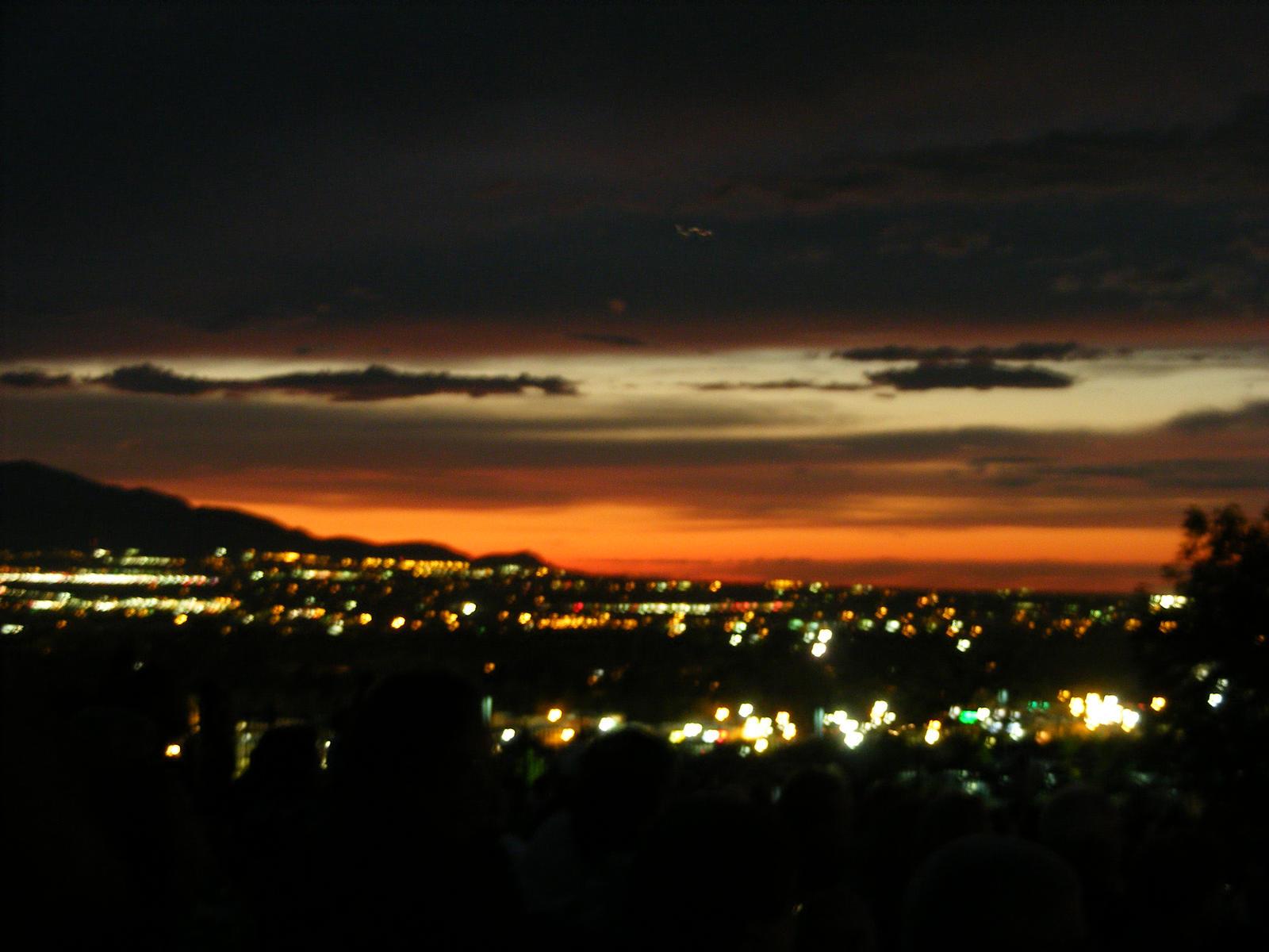 Salt Lake City At Sunset By Mslaura488 On Deviantart