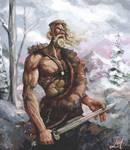 Norseman Painting