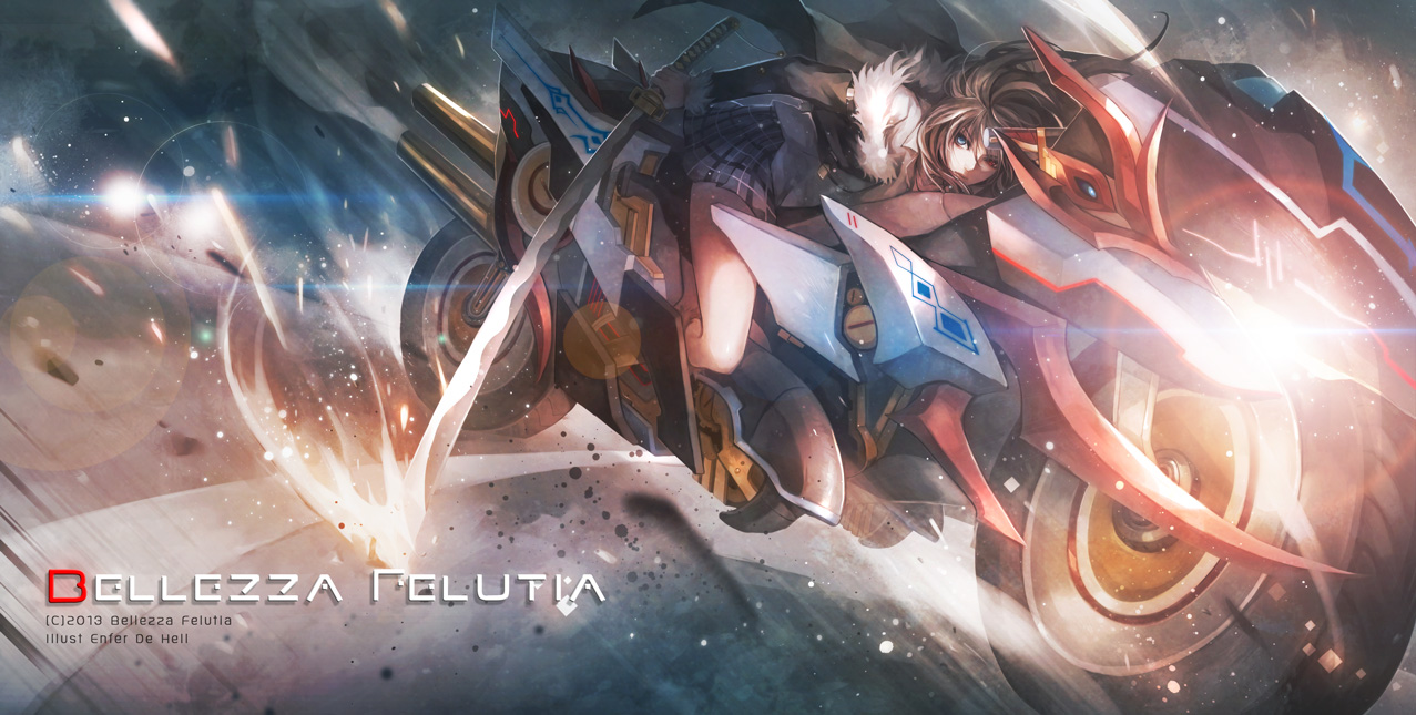 Belleza Felutia by EnferDeHell