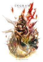 Ingram the Black Dragon by EnferDeHell