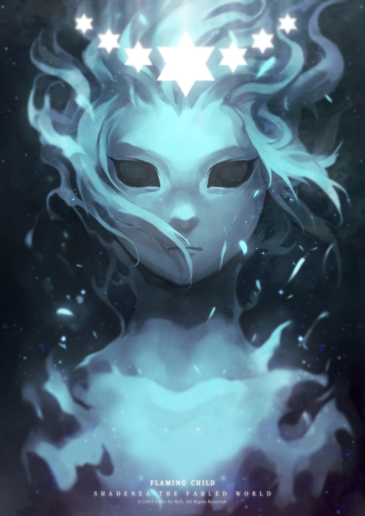 Flaming Child by EnferDeHell