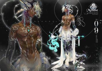 [ Resell / Art trade / OTA ] Motune # 09