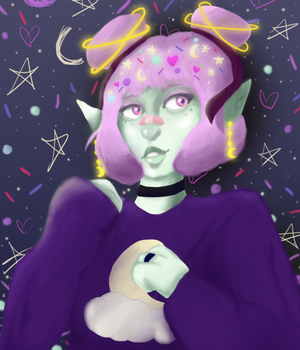 space chick