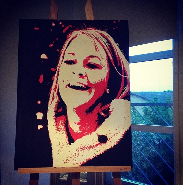 Portrait painting by SDarling