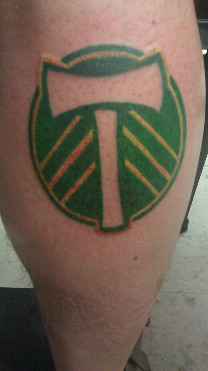 Portland timbers by groveblonde on deviantart for Portland oregon tattoo artists