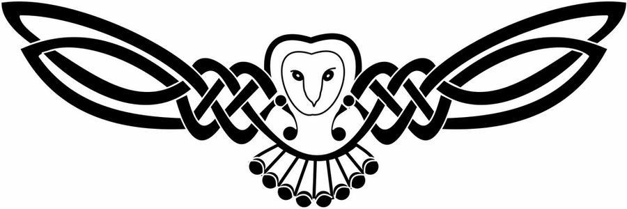 celtic knot owl by ozgirl39 on deviantart. Black Bedroom Furniture Sets. Home Design Ideas