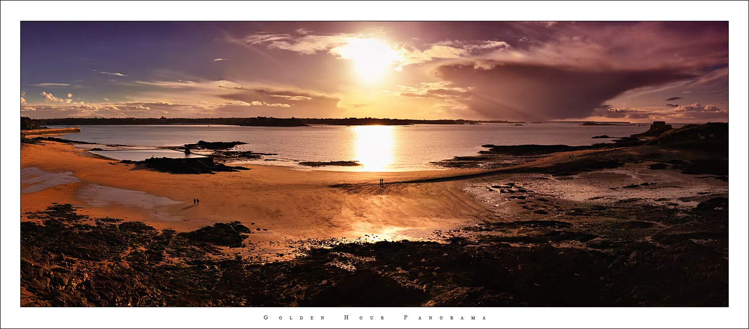 Golden Hour Panorama by Nylons