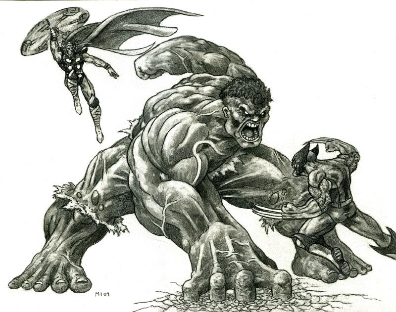 Hulk Vs Thor Wolverine