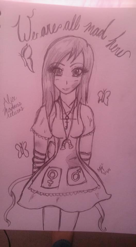 Alice Madness by princesslightheart