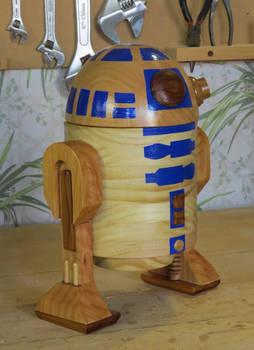 Wooden R2D2