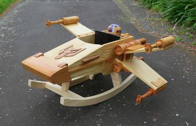 Rocking Ride-in Spaceship