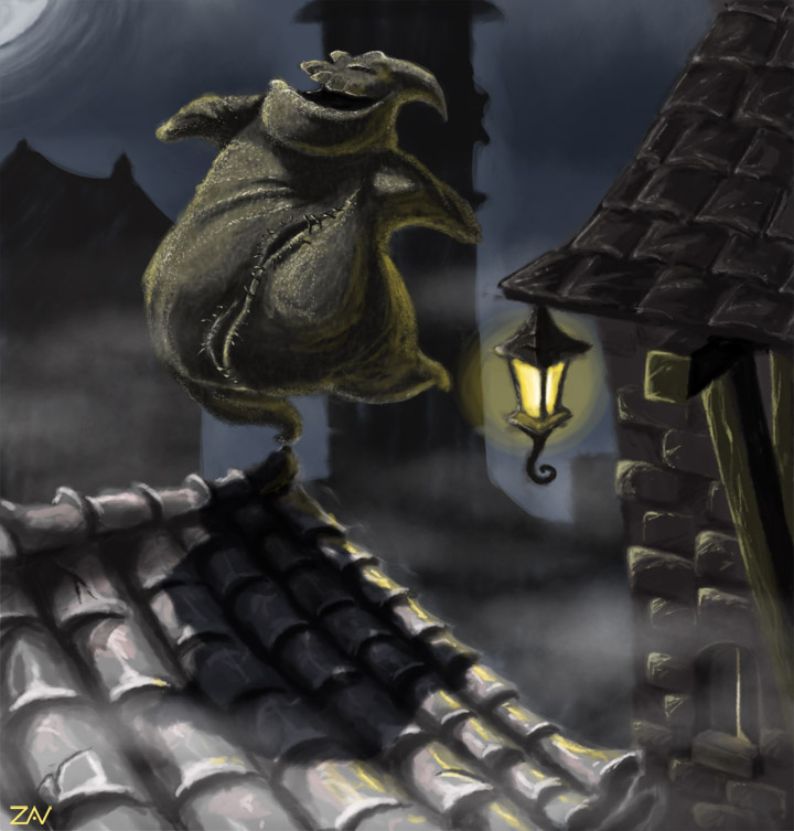 Oogie Boogie Wallpaper Oogie Boogie by Monkeyzav
