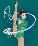 Ribbon Gymnast