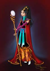 Fire Maiden by GaleRider
