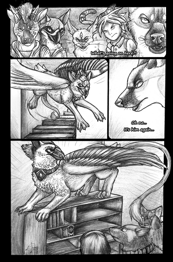 Cold as Ice Page 1 by Ebonyii