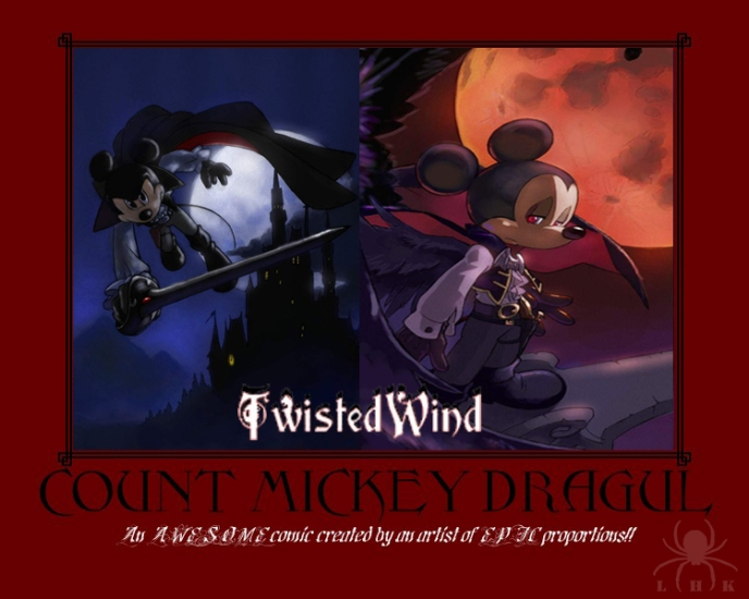 Count Mickey Dragul Motivator by LadyHexaKnight