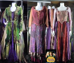 Hocus Pocus: Sanderson Sisters' Costumes
