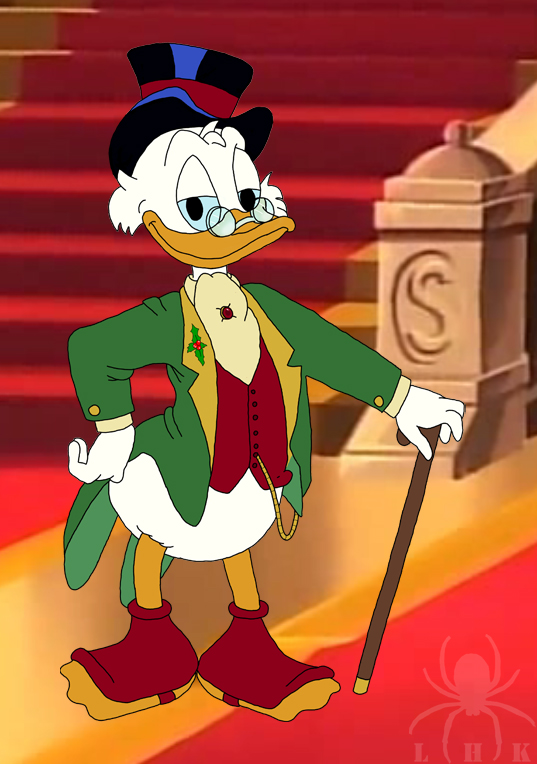 Scrooge Mcduck Christmas.Scrooge Mcduck Christmas Wear By Ladyhexaknight On Deviantart