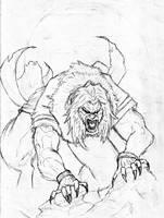 Sabretooth sketch by GabrielSilverwolf
