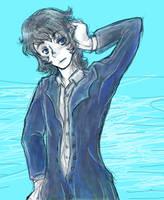 Newly drawn Renoir by Dazzel-Almond