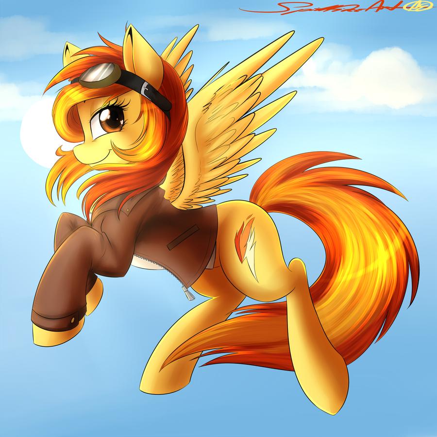 Spitfire by spittfireart