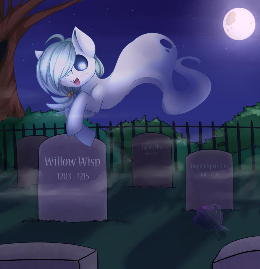 Willow Wisp by spittfireart