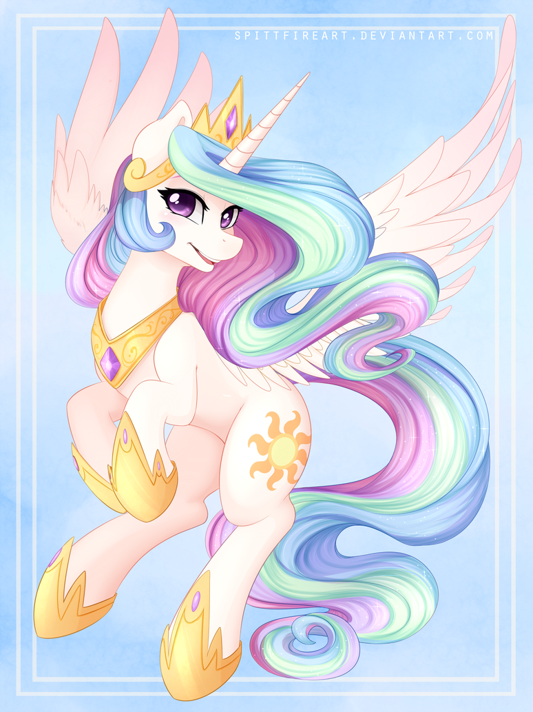 Sun Princess by spittfireart