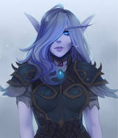 <b>Void Elf Hunter</b><br><i>spittfireart</i>