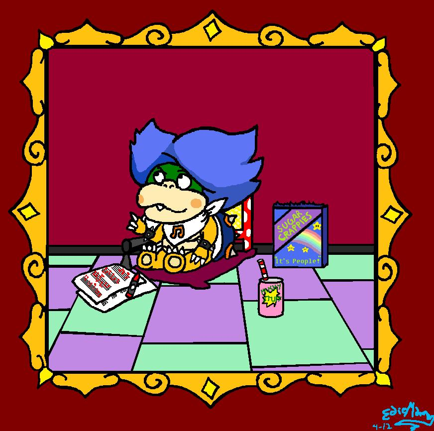 Baby Ludwig von Koopa by EdieMammon on DeviantArt
