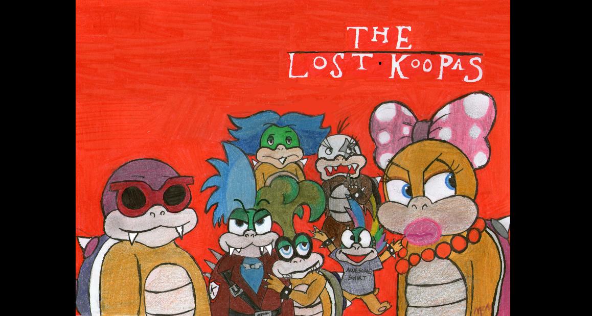 The Lost Koopas by EdieMammon