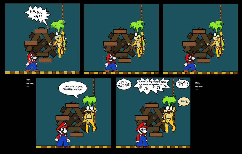 New Super Mario Bloopers by EdieMammon