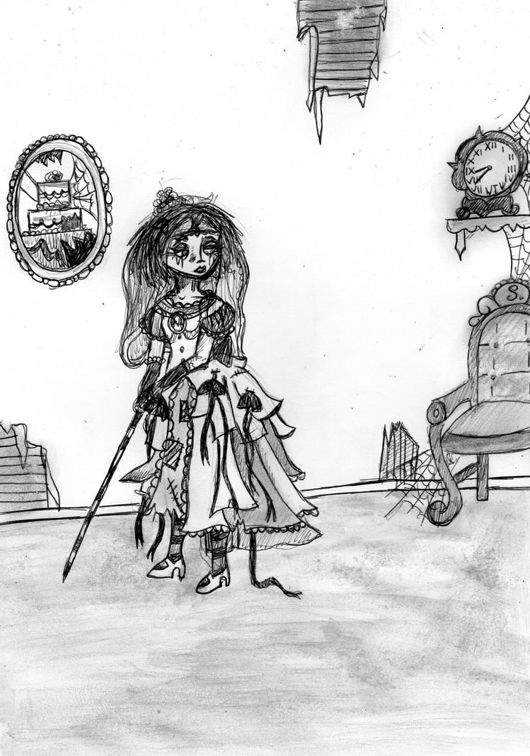 Miss Havisham by EdieMammon on DeviantArt