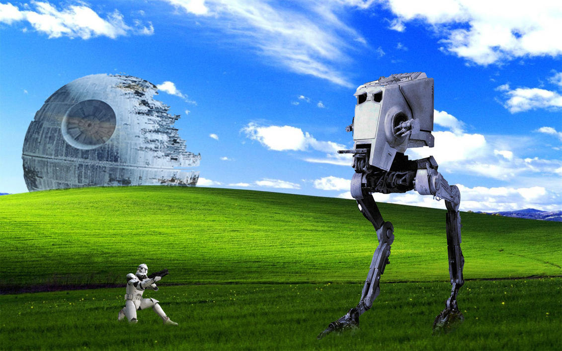 star wars windows xp classic wallpaper by diegoskywallker