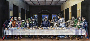 Last Supper by Monsterbatory1