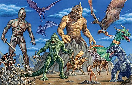 Land of Harryhausen by Monsterbatory1