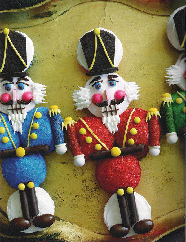 Nutcracker Sweet by christmas-cupcakes