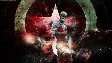 Captain America by miraradak