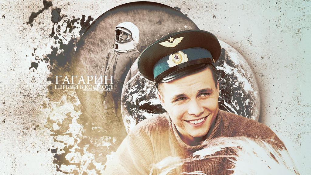 Gagarin by miraradak