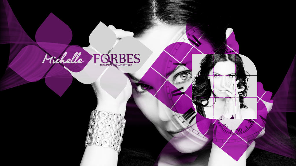 Michelle Forbes by miraradak