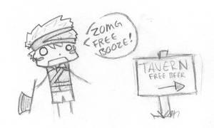 Nojiko: Free Booze