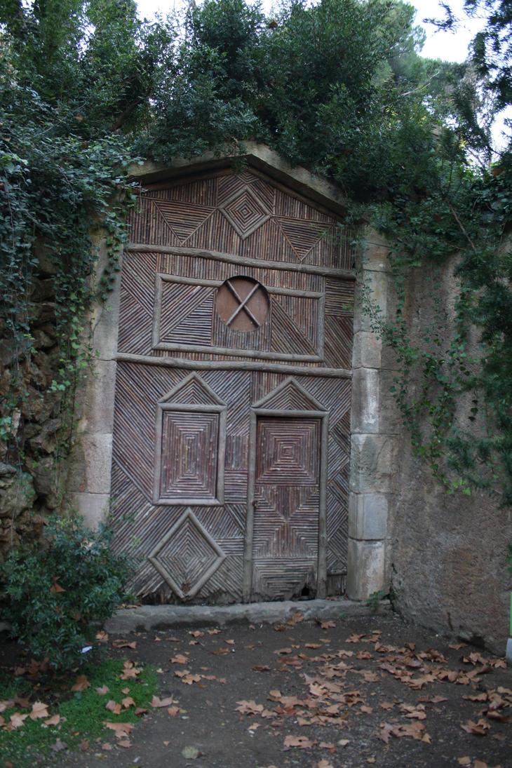 Wooden door stock 1 by LutherHarkon